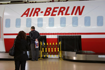 Flughafen Berlin Tegel  Airberlin Terminal.
