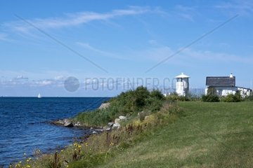 Leuchtturm Strukkamphuk  Insel Fehmarn  Ostsee  Kreis Ostholstein  Schleswig-Holstein  Deutschland  Europa