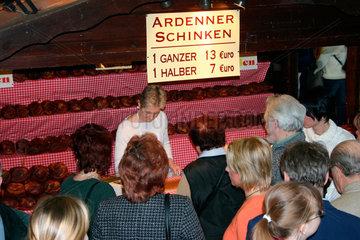 Gruene Woche - Ardenner Schinken