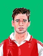 Portrait von Michael Ballack bei Bayern