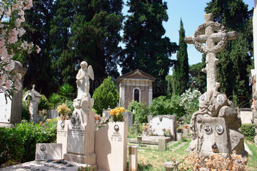 Italy  Rome - Friedhof Verano