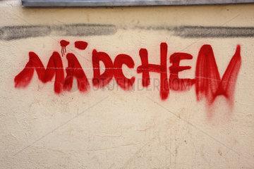 Maedchen Graffiti