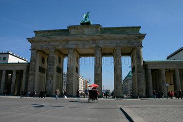 Rikschataxi am Brandenburger Tor