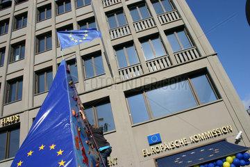 Europaeische Kommission Kletterwand