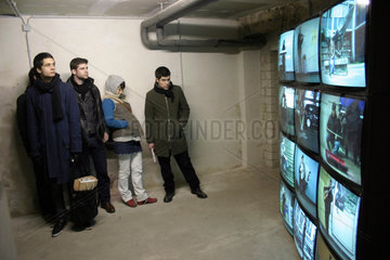 Germany - 4th Berlin biennial for contemporary art. Videoinstallation von Ulf Am