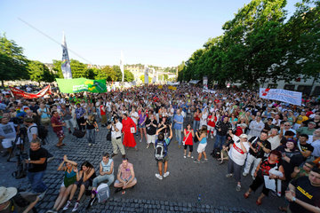 Christopher Street Day 2009 in Stuttgart.