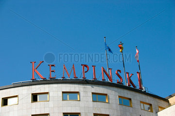 Berlin. Hotel Kempinski