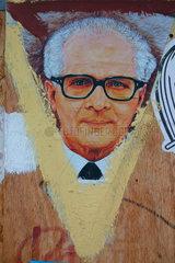 Honecker Street art