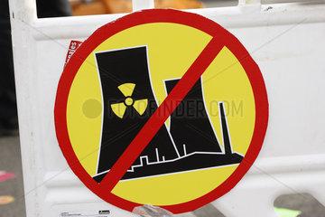 Atomkraftwerk Verbotsschild