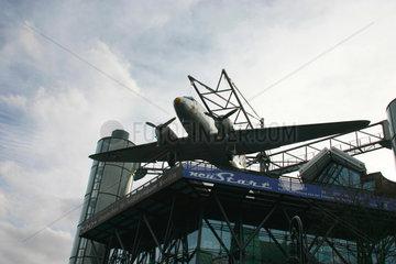 Rosinenbomber auf dem Dach der Deutsches Technikmuseum