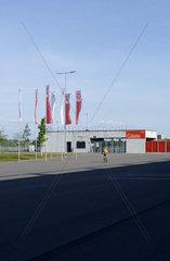 Gaesteeingang Fussballstadion