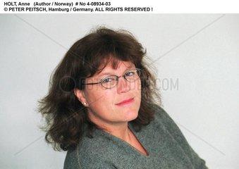 HOLT  Anne - Portrait der Schriftstellerin