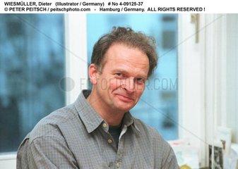 WIESMUELLER  Dieter - Portrait des Grafikers