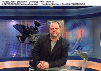 HETZEL  Peter - Portrait des Journalisten