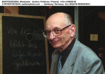 BARTOSZEWSKI  Wladyslaw - Portrait des Schriftstellers