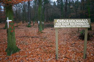 gefaehrdet Erholungswald
