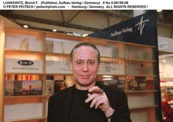 LUNKEWITZ  Bernd F. - Portrait des Verlegers