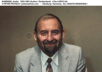 KAMINSKI  Andre - Portrait des Schriftstellers