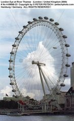 London 2000 - Riesenrad an der Themse