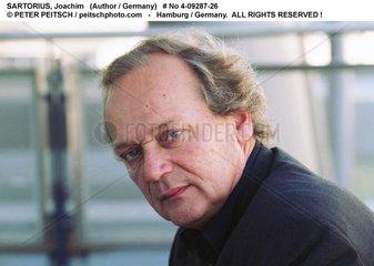 SARTORIUS  Joachim - Portrait des Schriftstellers