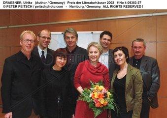 DRAESNER  Ulrike - Preis der Literaturhaeuser an die Schriftstellerin