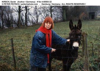 KIRSCH  Sarah - Portrait der Schriftstellerin