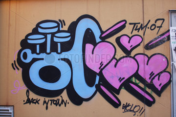 Herzen Trompete