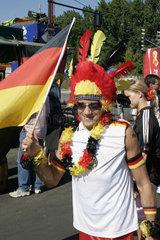 WM 2006 Deutsche Fussballfans