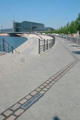 Verlauf der Berliner Mauer