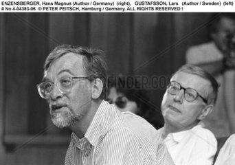 ENZENSBERGER  Hans Magnus mit GUSTAFSSON  Lars