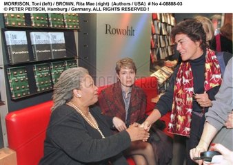 MORRISON  Toni und BROWN  Rita Mae - Schriftstellerinnen