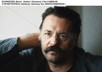 SCHROEDER  Bernd - Portrait des Schriftstellers