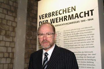 REEMTSMA  Jan Philipp - Eroeffnung der Ausstellung Verbrechen der Wehrmacht