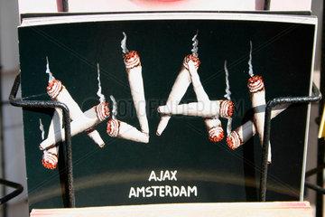 Amsterdam. Joint Motiven auf ein Flohmarkt