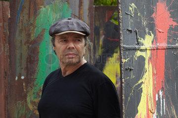 DJIAN  Philippe - Portrait of the writer