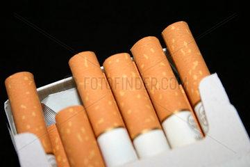 Zigaretten in der Nahaufnahme