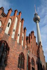 St. Marienkirche am Alexander Platz