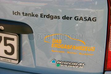 Das Erdgasfahrzeug