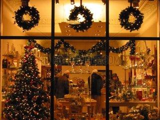 Weihnachtliche Hamburg City