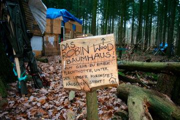 Das Robin Wood Baumhaus