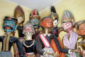 Balinesische Holzmarionette