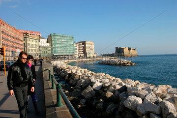 Lungomare in Neapel