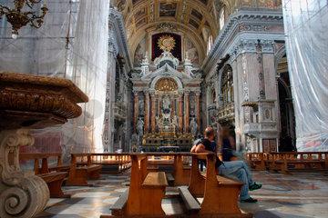 Neapel Chiesa del Gesu nuovo