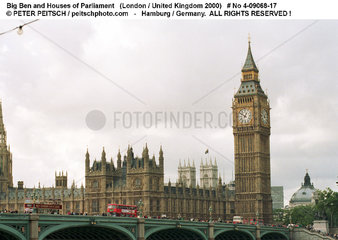 London 2000 - Big Ben and Houses of Parliament