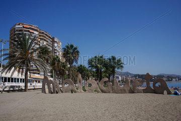 Strand im Malagueta