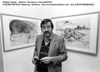 GRASS  Guenter - Portrait des Schriftstellers