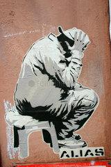 Papier Street art