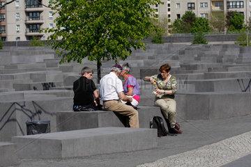 Holocaustdenkmal Pause