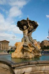 Fontana dei Tritoni in Rom