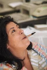 GRANDES  Almudena - Portrait der Schriftstellerin
